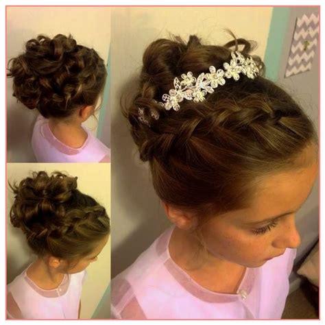 coiffure mariage fille cheveux mi les coiffures de petites filles les coiffures de petites