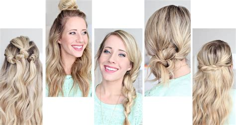 6 cute and easy hairstyles you can wear to work kislly