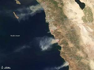 Stratosphere pushes Santa Ana wind wildfires | Earth ...