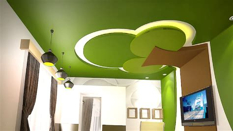 10 unique false ceiling designs made of gypsum board 28