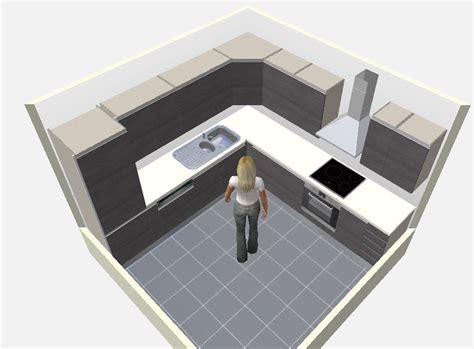 logiciel pour cuisine 3d gratuit 8 plans de cuisines pour une pièce carrée cuisine plus