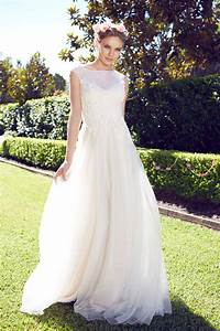 garden wedding dresses for the bride and her girls With outdoor wedding dresses