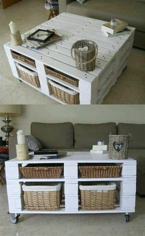table basse en cagette 50 id 233 es pour une table basse avec palette furniture