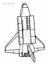 Coloring Spaceship Pages Printable Space Cool2bkids Ship Rocket Spaceships sketch template