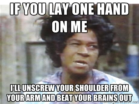 Aunt Esther Meme - aunt esther sanford funny quotes quotesgram