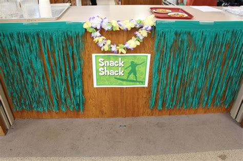 rainforest craft ideas for ready for snacks at the shack snacks area cokesburyvbs 7086