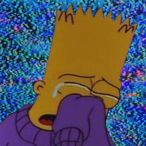 Sad Bart Thesimpsons Simpsons Mood Image By Lxv