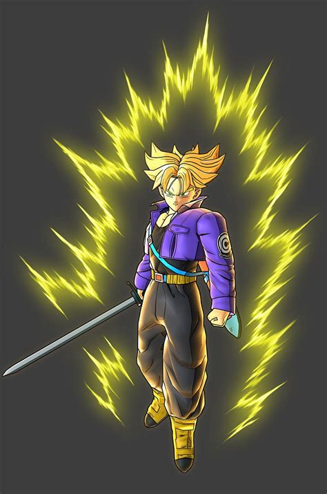 super saiyan future trunks future trunks super saiyan