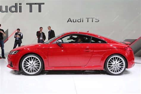 Audi Tts Side Profile Photo 1