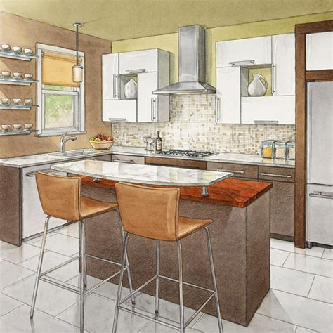 best kitchen layout with island secrets of successful kitchen layouts better homes and 7719