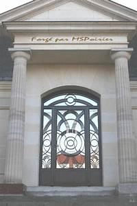 porte d39entree en fer forge modele bilbao portes With porte d entrée en fer