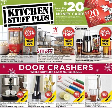 kitchen stuff plus kitchen stuff plus flyer dec 12 to 24
