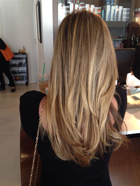 honey blonde  haircolor blog