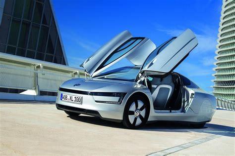 Volkswagen Car : 2014 Volkswagen Xl1, The 261-mpg Car, Debuts