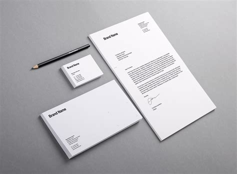 Branding / Identity Mockup Vol.12 Business Letter On Letterhead Format Bookkeeper Card Design Greetings And Salutations Letters For Class 10 Maker Second Page Buy Cards Download Free