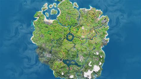 biggest   fortnite chapter  update  map