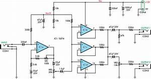Electric Guitar Violin Preamplifier Circuit Diagram