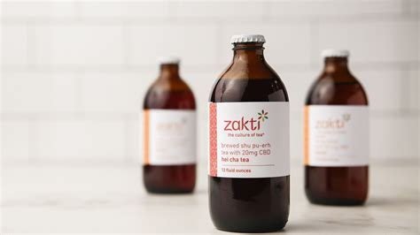 cbd tea infused beverages oak cliff dallas michalesko ryan launches chilled company line zakti varieties six comes morning staff photographer