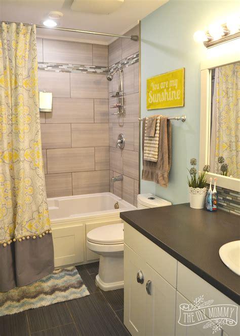 kids bathroom reveal   great tips  post reno