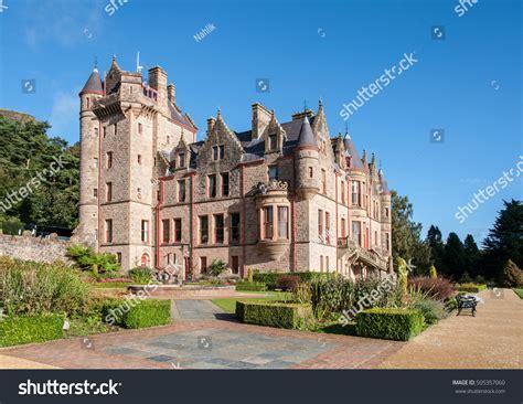 Belfast Castle Tourist Attraction On Slopes Stock Photo