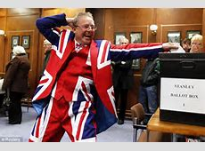 Falkland Islanders cast their vote on British identity