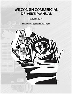 Commercial Driver U0026 39 S Manual For Cdl Training  Wisconsin  On