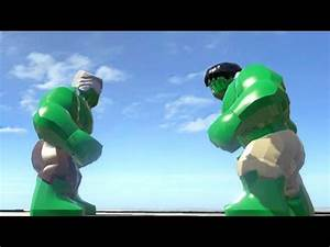 STAN LEE VS HULK (BATTLE) - LEGO Marvel Super heroes - YouTube