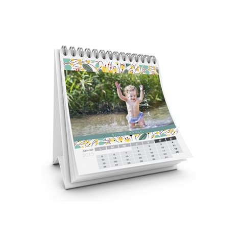 calendrier bureau photo calendrier de bureau motif fleur carteland com