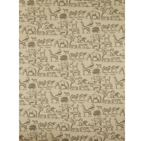 Vintage Animal Wallpaper - vintage painted jungle animals wallpaper parchment 2 rolls