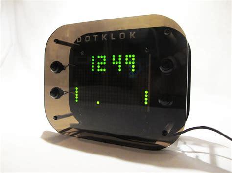 dotklok hackable open source digital clock gadgetsin