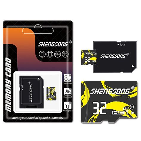mobile in mp4 shengsong 32gb 64gb class 10 storage memory card tf card