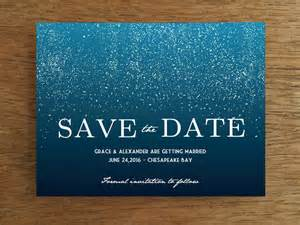 wedding party program template save the date template starry