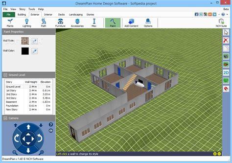 home design application dreamplan home design software 3 05 beta