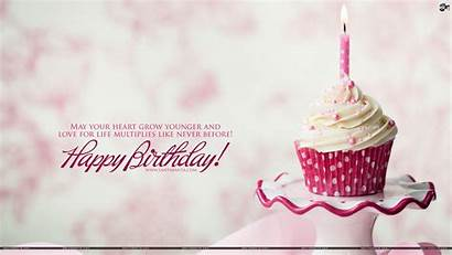 Birthday Happy Wallpapers Cake Sinh Background Delicious
