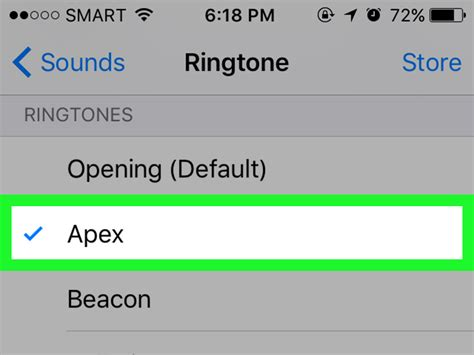 how to set ringtone on iphone how to change the default ringtone on iphone 4 steps