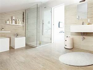 Wood look tiles home house garden design for Wood tiles bathroom