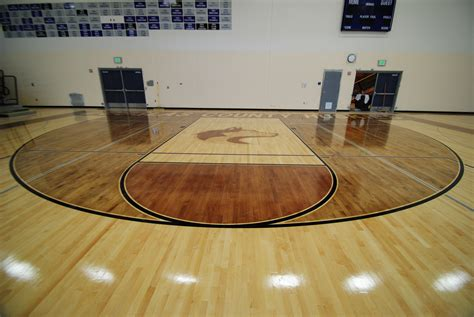 high five floor l douglas county high stained gym floor 5 all