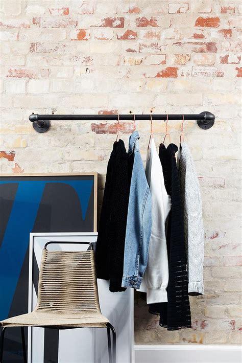 Kleiderstange Für Die Wand by Rackbuddy Joey Kleiderstange Aus Rohren F 252 R Wand