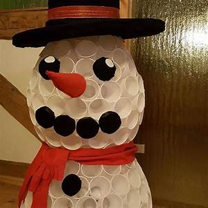 Basteln Mit Plastikbecher : mein verzauberten mann schneemann plastikbecher gl hweinbecher basteln sparkleball snowmen ~ Orissabook.com Haus und Dekorationen