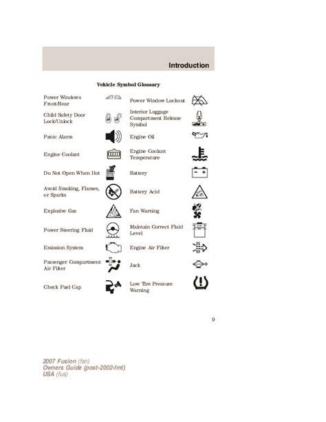 best car repair manuals 2007 ford explorer user handbook 2007 ford fusion owners manual