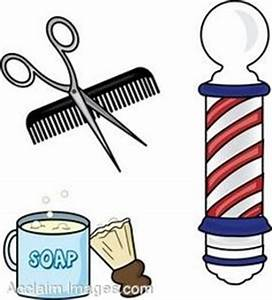 Woman barber clipart collection