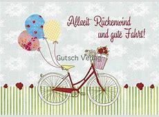 Fahrrad Postkarten Grußkarten