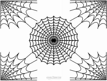 Spider Coloring Web Pages Printable Webs Charlotte