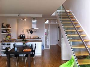 Wohn Esszimmer Küche : treppe wohnzimmer raum und m beldesign inspiration ~ Markanthonyermac.com Haus und Dekorationen