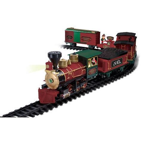 eztec radio control north pole express christmas train set