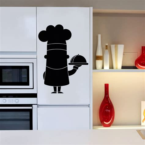 stickers ardoise cuisine sticker ardoise caricature chef de cuisine stickers