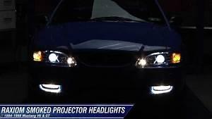 Mustang Raxiom Chrome Projector Headlights