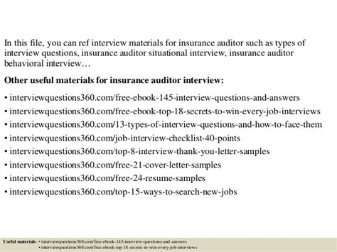 Audit Questions And Answers by Insurance Audit Questions 11 Top Risks Of