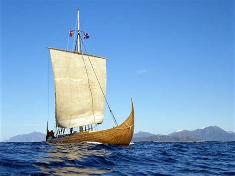 Viking Boat Flags by Gaia Viking Ship And Europe On