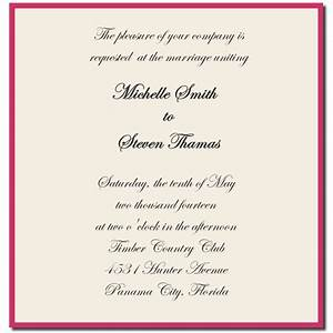 wedding invitation wording ideas template best template With wedding invitation wording ideas